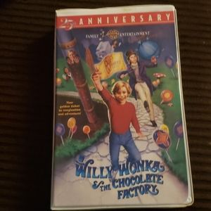 Willy Wonka & the Chocolate Factory VHS